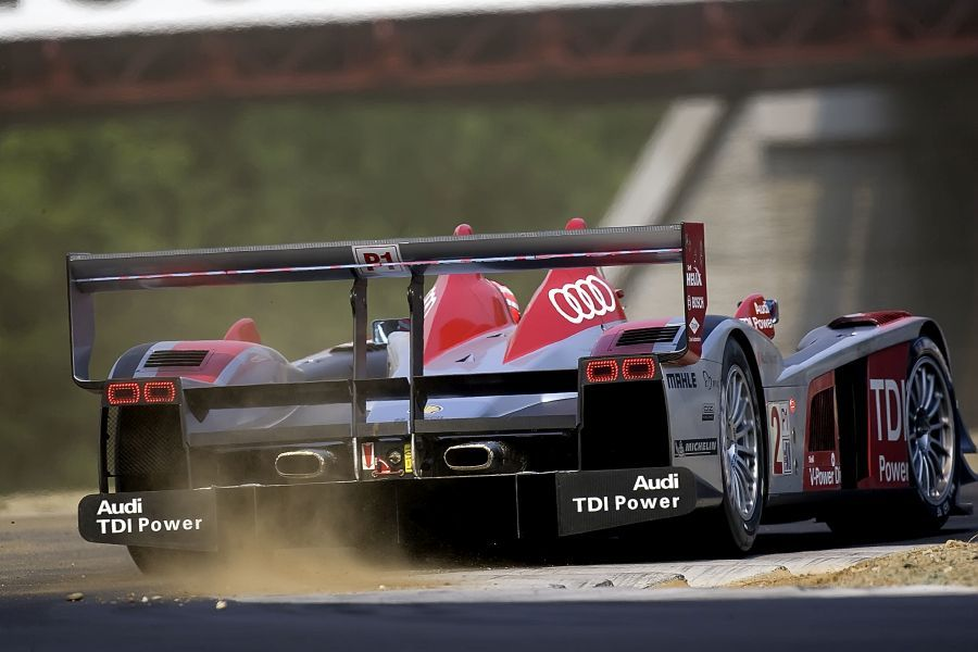 The R10 TDI was the first of several Audi diesel-powered LMP1 prototypes