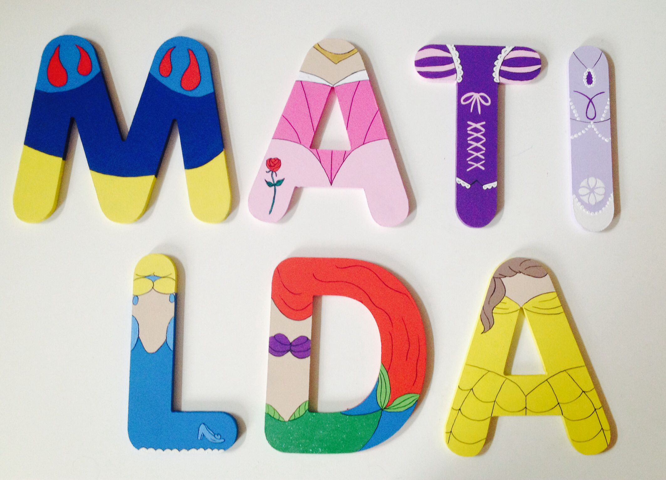 bedroom wall plaques. Princess Bedroom, Wall Letters, Name. Facebook (personalised Plaques By Nic) Bedroom O