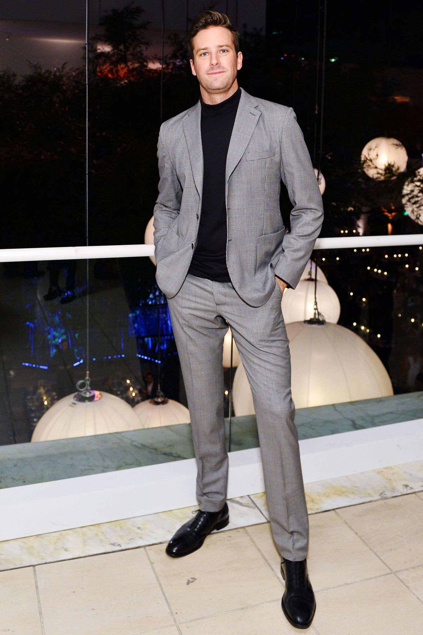 32bd98f020c The Suited-Up Style Move You Should Steal From Armie Hammer