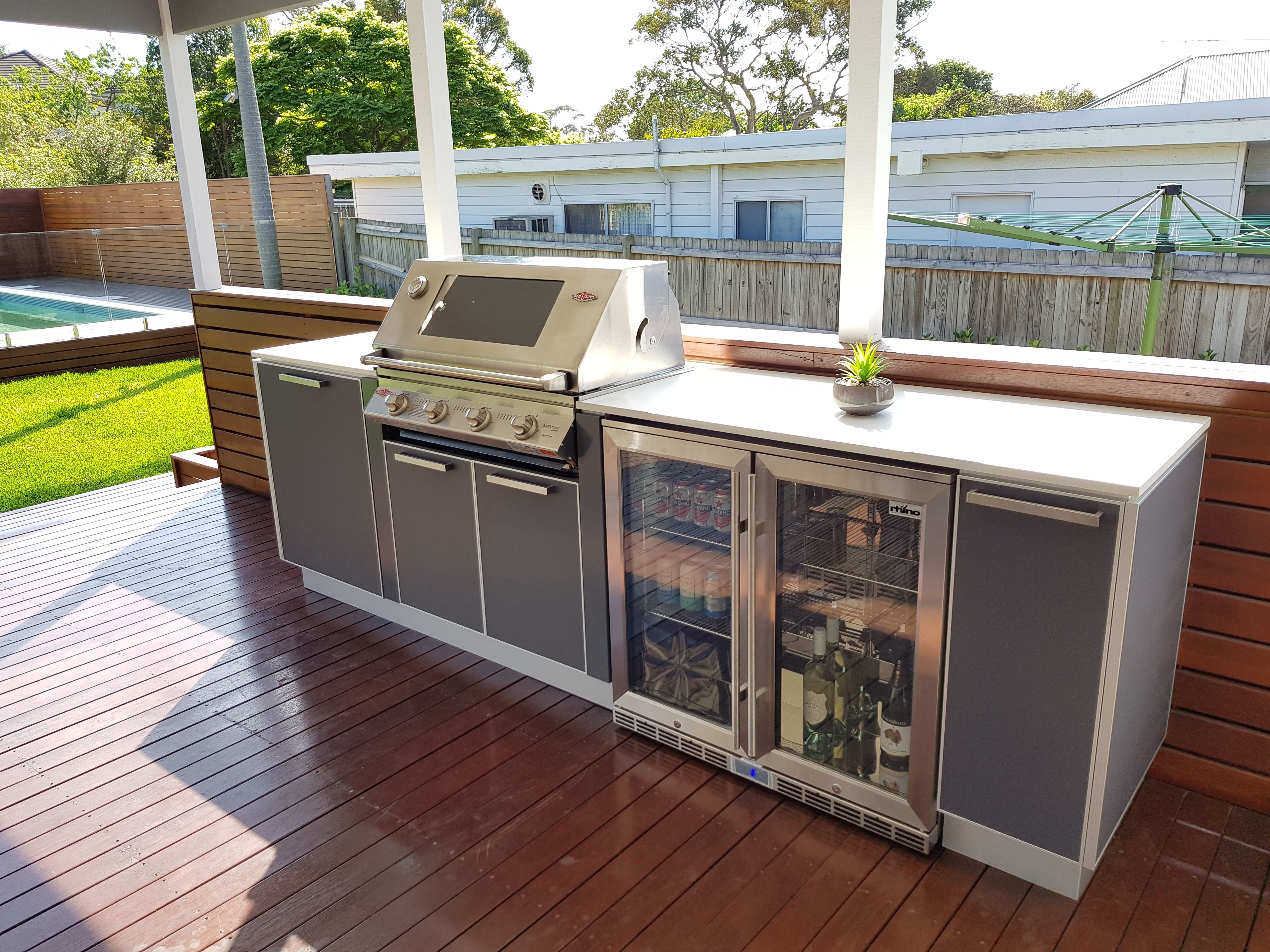 Another DIY Outdoor Kitchen model from Kastell Kitchens