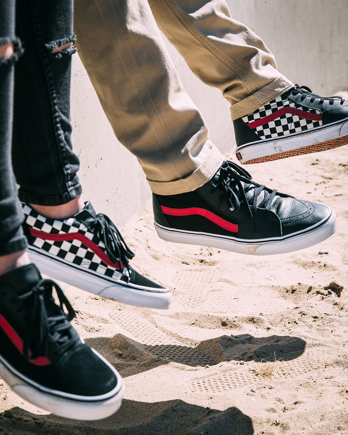 chaussures palace vans collab