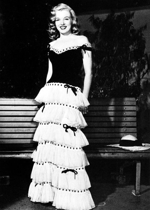 1946 Ball Gown worn by Marilyn Monroe | 1946 Ready & Dressed ...