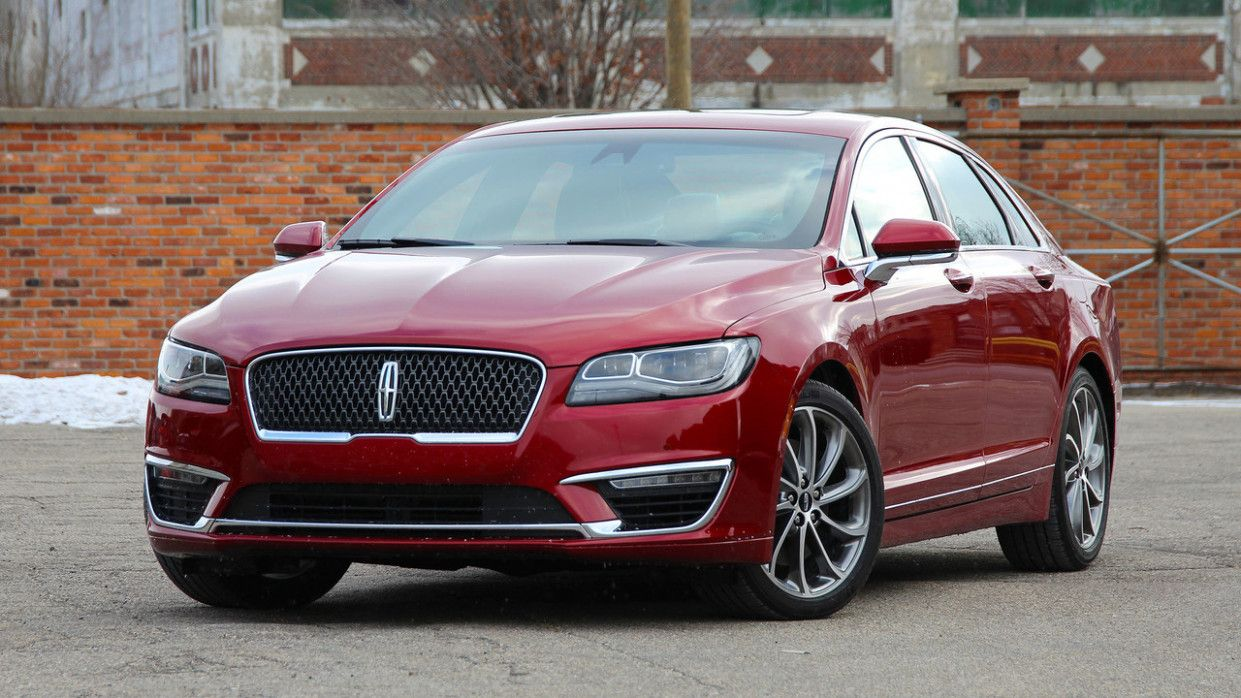 Spy Shots Lincoln Mkz Sedan Reviews