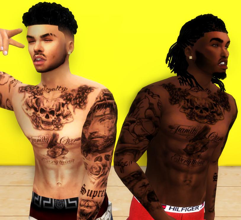 Sims 4 Tattoos, Sims 4 Male Clothes, Sims 4 Men