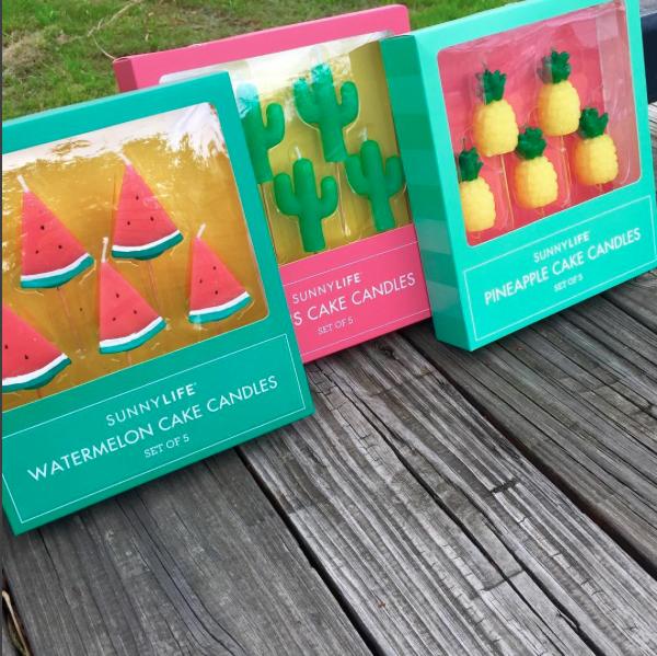   Sunny Life   Candles   Watermelon   Cactus   Pineapple   Summer 2016   Trends   Shop Sabi  