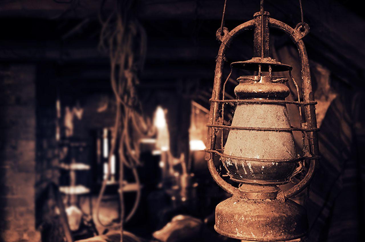 Bilder Retro Petroleumlampe Lampe Grossansicht Antik Wallpaper Black Background Images Oil Lamps