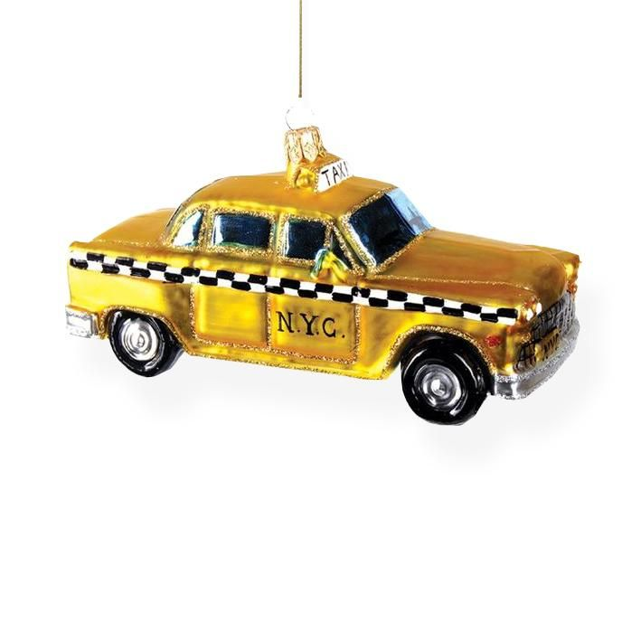 Taxi Cab Ornament in 2018 Products Pinterest Ornaments