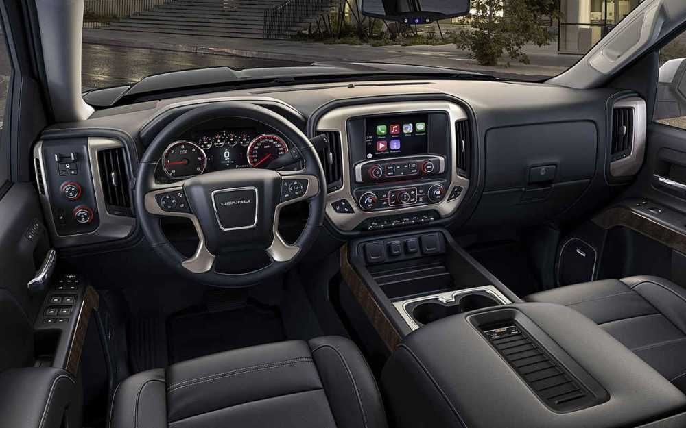 2018 Gmc Denali 3500hd Interior Dashboard