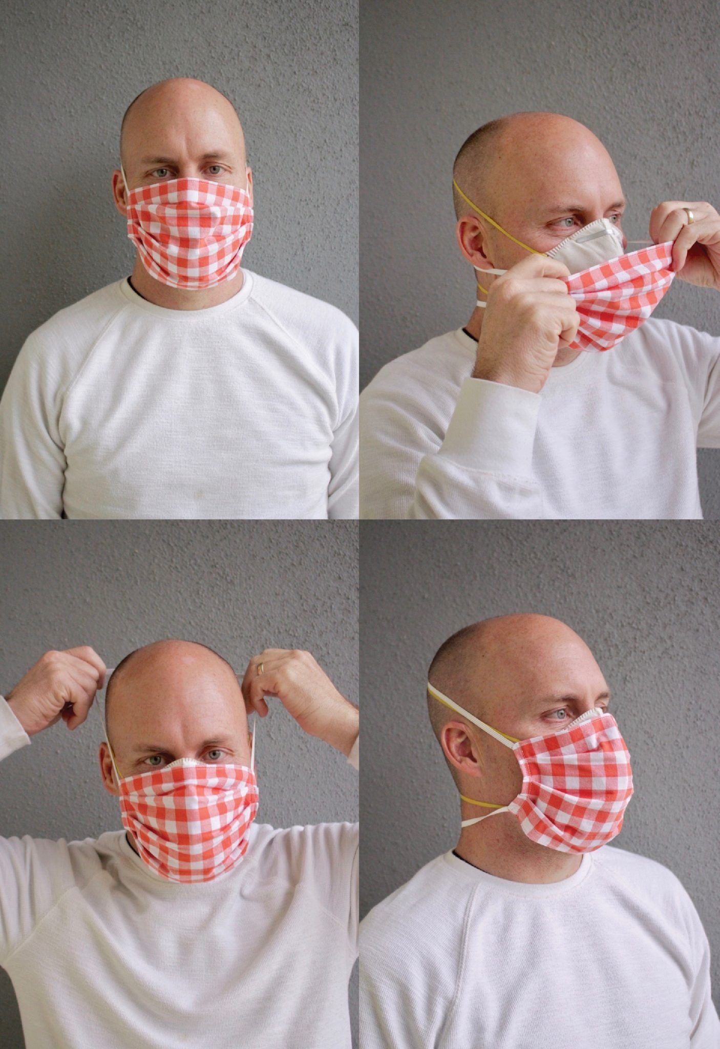 Fabric Face Mask with TIES MADE EVERYDAY in 2020 Mask