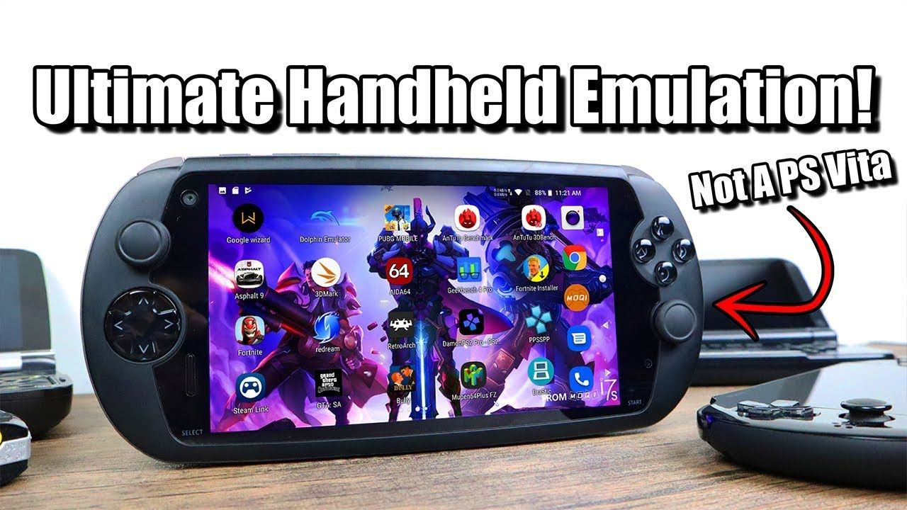 Ultimate Handheld Emulation Moqi I7s Review Android Gaming Device Youtube Handheld Android Dolphin Emulator