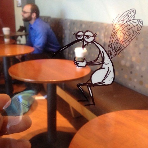 Doodles in Real Life. Hilarious and Witty Characters.