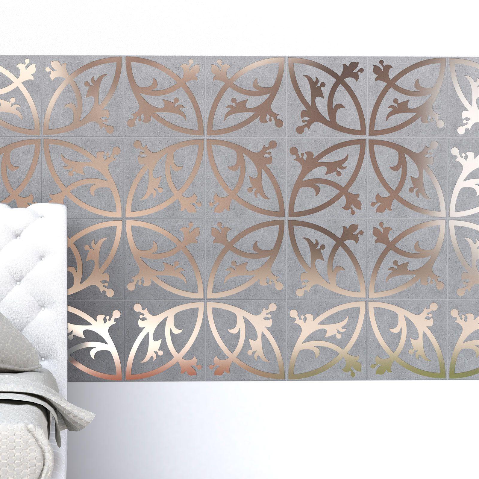 modern tiles 91 Hybrid Between a Wallpaper and a Tile Pattern ...
