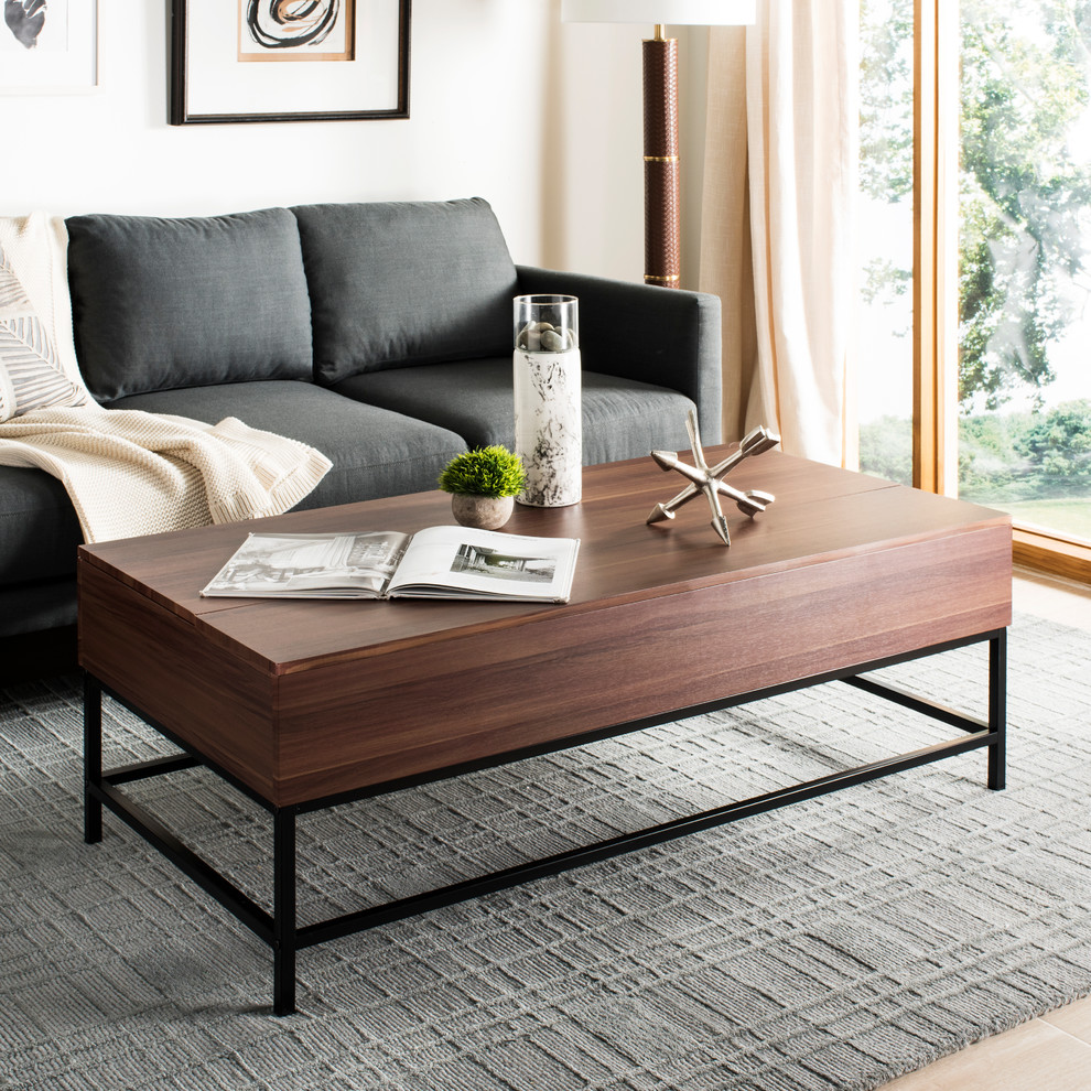Safavieh Gina Lift Top Coffee Table Industrial Coffee Tables By Safavieh Decoracao De Casa Decoracao Mdf [ 990 x 990 Pixel ]