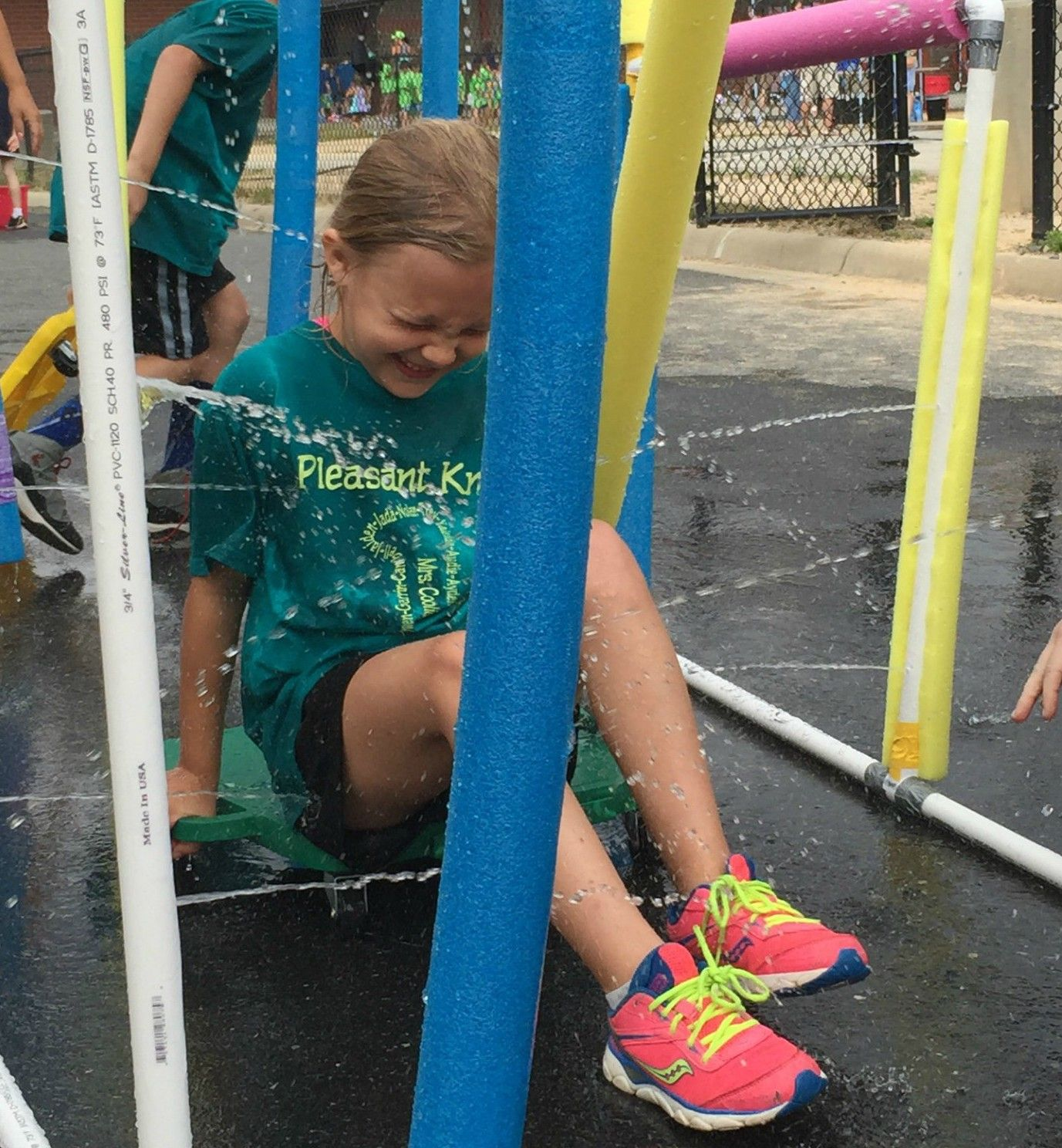 Car Wash Water Station For Kids Field Day Activity