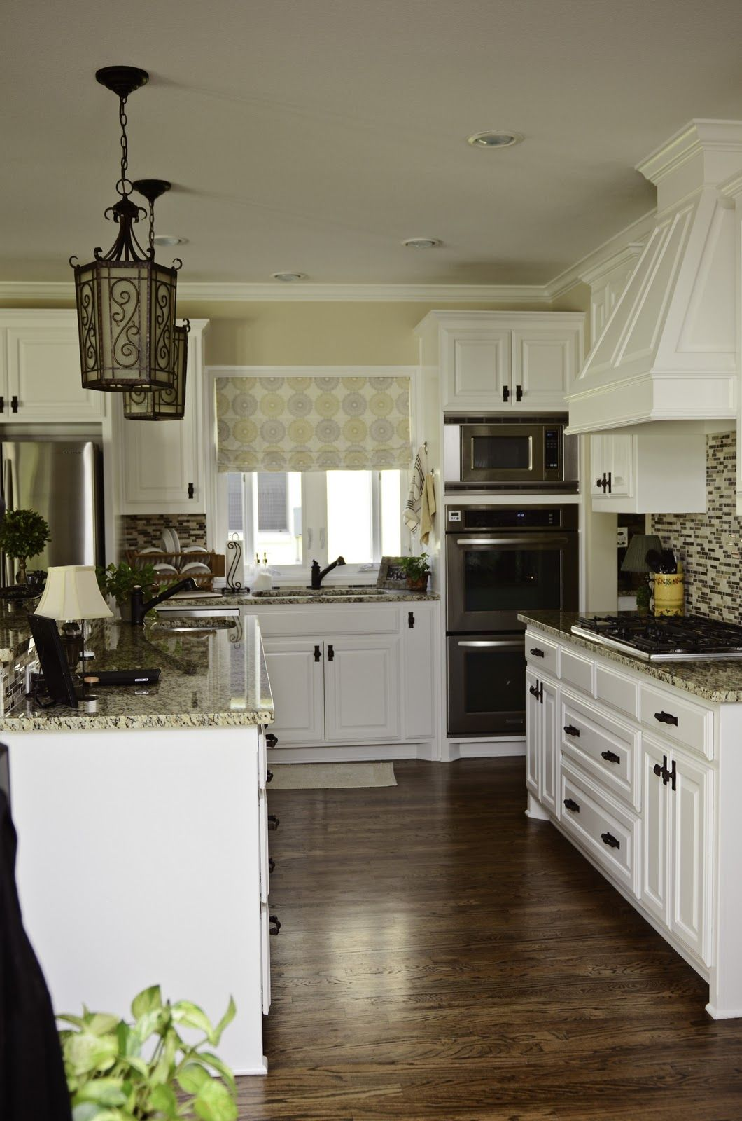 simplify your space our home pretty and not too white white kitchen kitchen design kitchen on kitchen cabinets not white id=19836