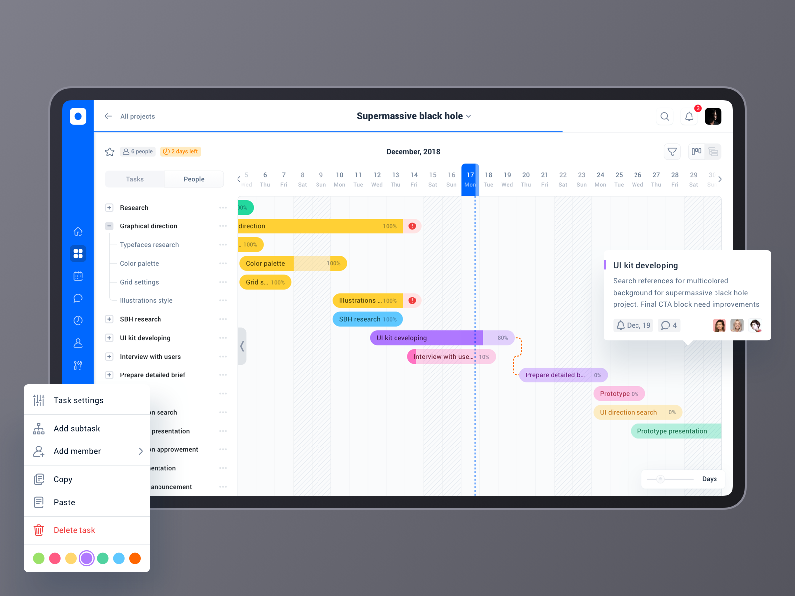 Project Management Tool Project Roadmap Gantt Chart By Anton Yefimenko Project Management Tools Project Management Gantt Chart