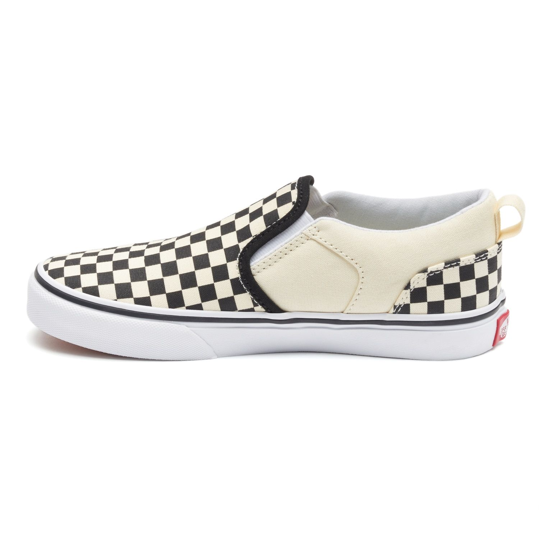 1b200a6bb73a Vans Asher Boys  Checkered Skate Shoes  Boys