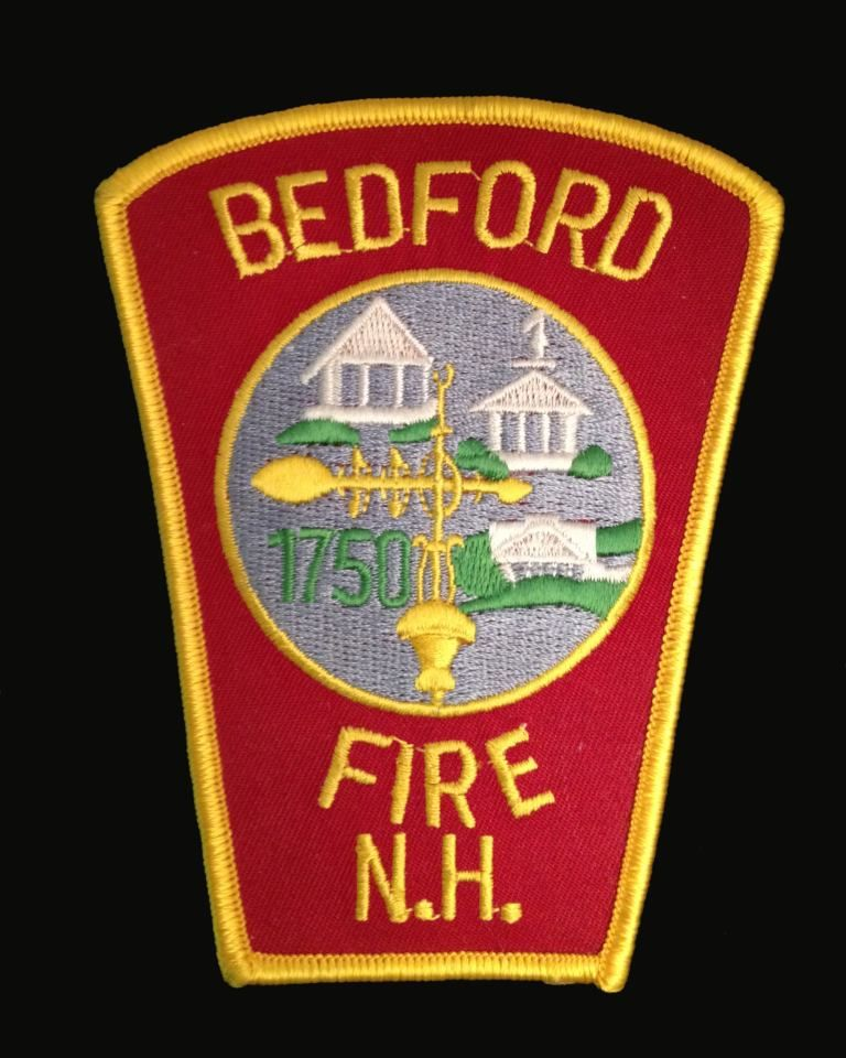 Bedford Fire Department New Hampshire Fire Patches