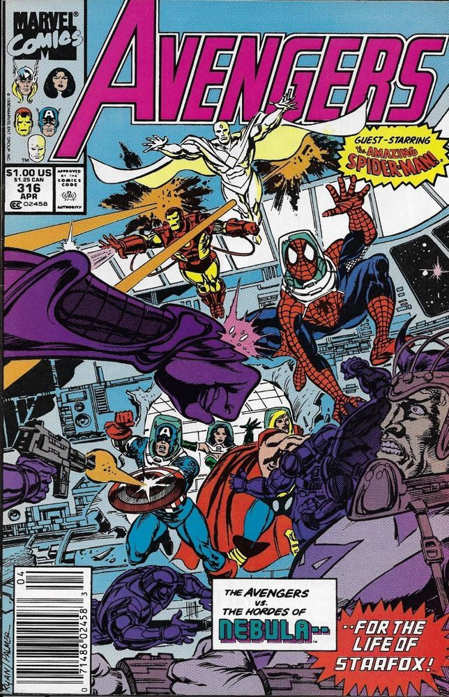 Marvel the avengers comic issue 316 imperial merchant marvel comics avengers comics marvel - Mechant avenger ...