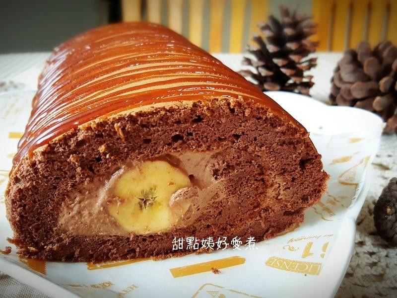 巧克力香蕉蛋糕卷 by 蔡聿聿 | Recipe | Cake roll. Desserts. Cake