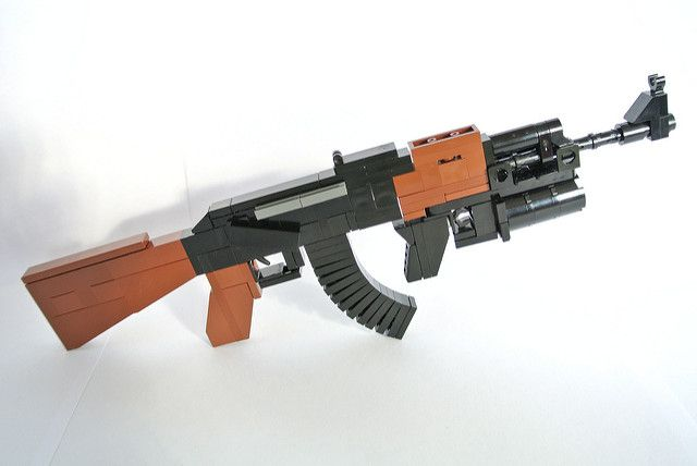 Lego Gun Of The Week Ak47 By Nzglegoli Lego Gun Of The Week