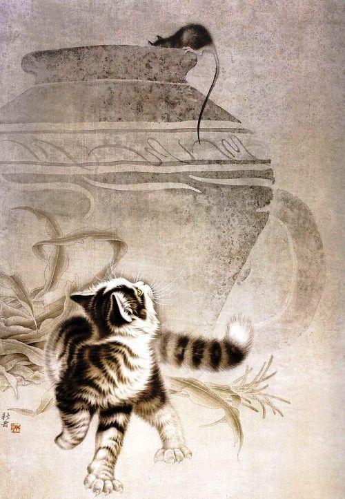 """Результат пошуку зображень за запитом """"Кошки в рисунках Сюй Синьци ..."""""""