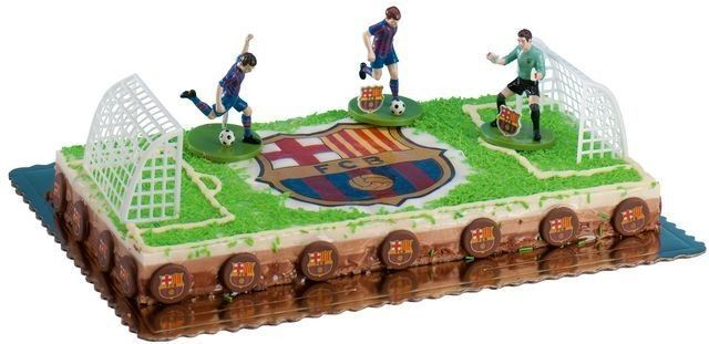 d cor gateau fc barcelone b day soccer pinterest football and decoration. Black Bedroom Furniture Sets. Home Design Ideas