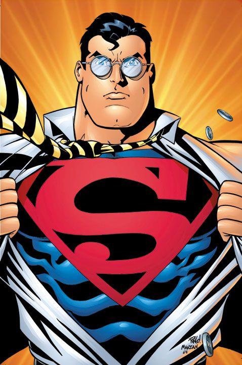 Superman by Mike Wieringo  Superman  Pinterest  Clark kent