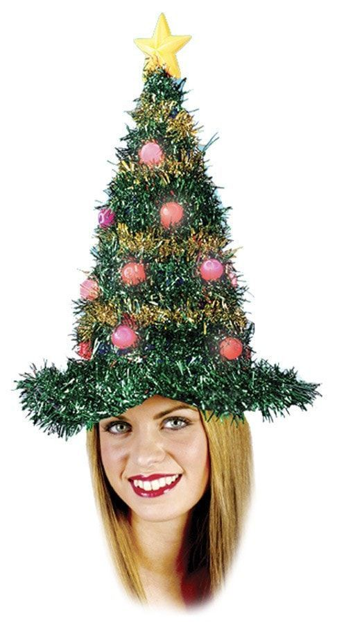 christmas tree hat light up