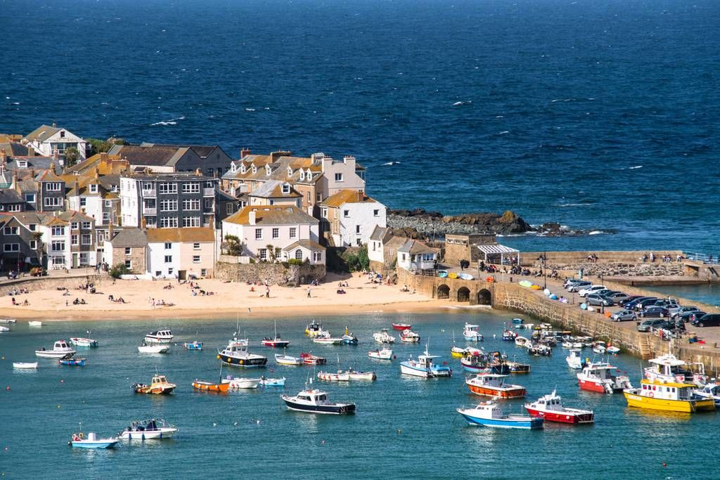 St Ives Harbour Places To Travel Renting A House Fishermans Cottage