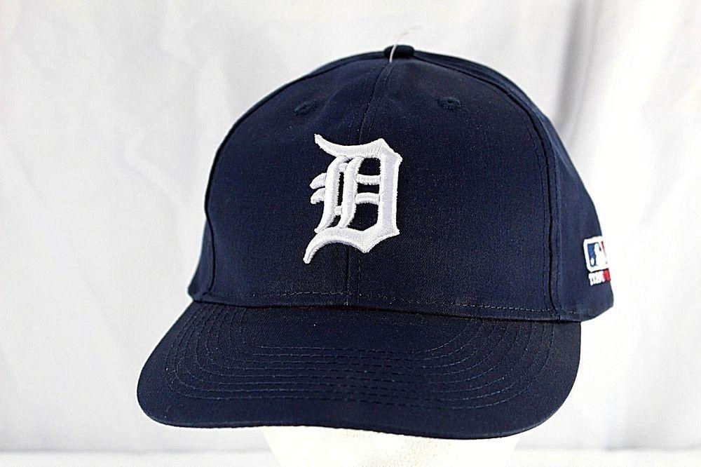 Detroit Tigers Blue/White MLB Baseball Cap Adjustable