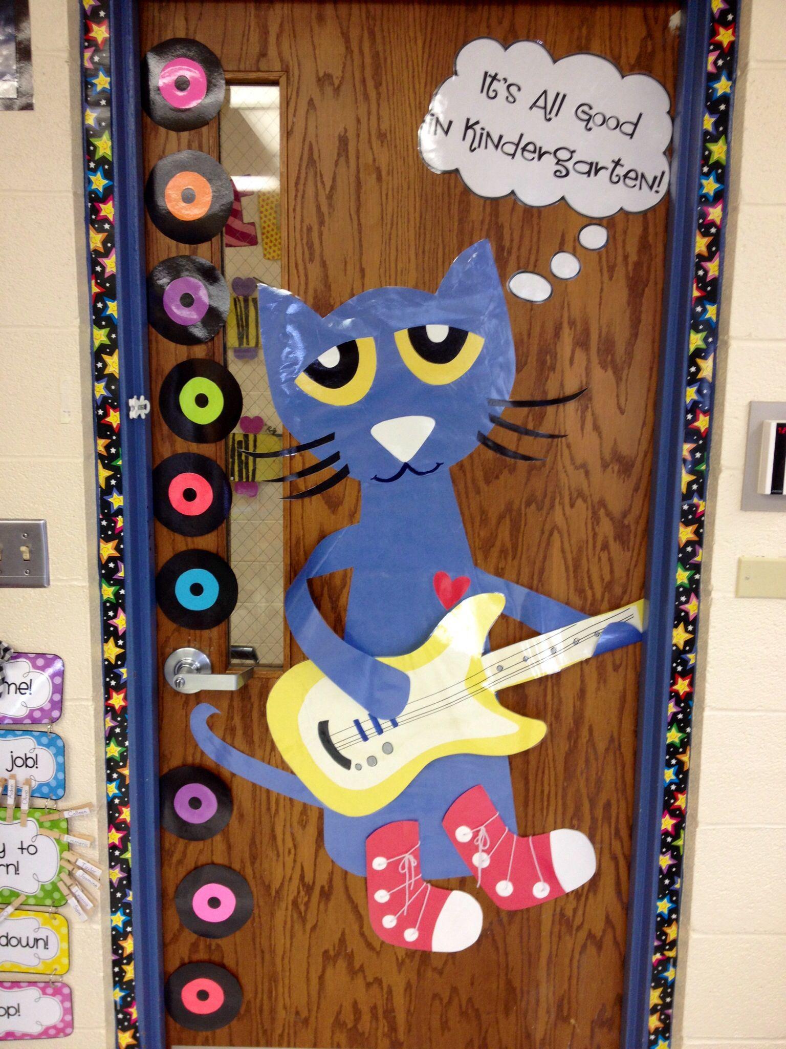 Pete The Cat On Classroom Door It S All Good In