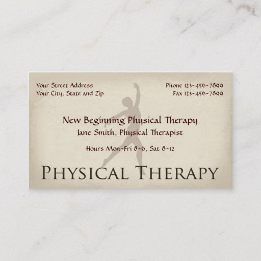 Physical Therapist Therapy Business Cards Zazzle Com In 2021 Physical Therapist Teacher Business Cards Therapist