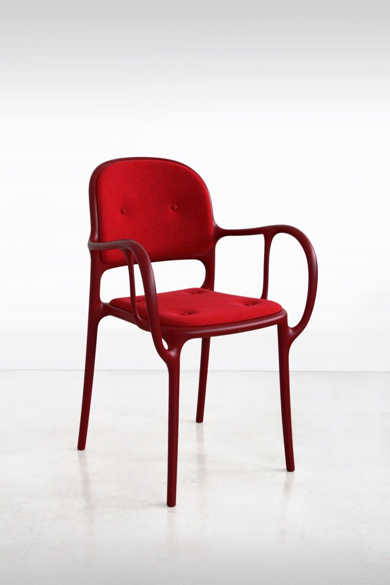 Mila Chair For Magis Upholstered Chairs Chair Plastic Chair