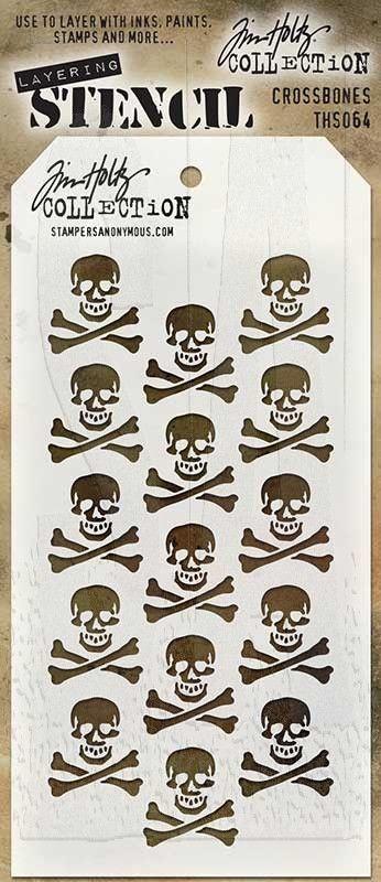 Tim Holtz Layering stencil THS016 Harlequin