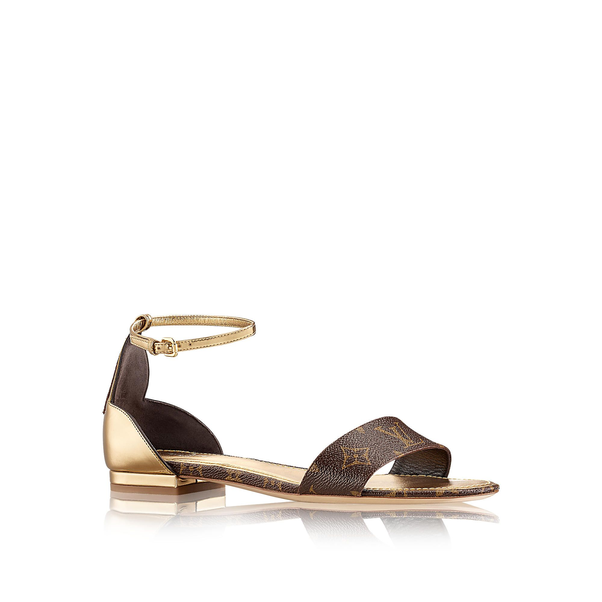 54a588e1f6d Sunshine Sandal via Louis Vuitton