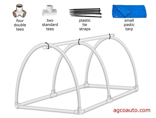 Inexpensive generator cover built with PVC   Camping   Pinterest ...