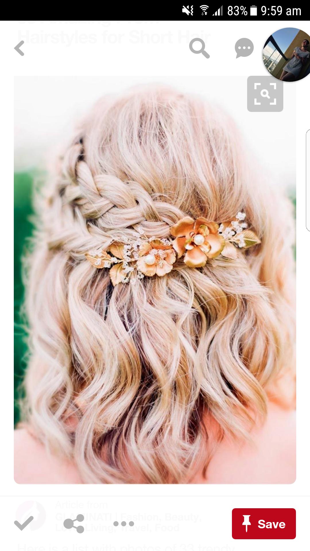 Hair ideas Bridesmaid in Pinterest Hair styles Hair and