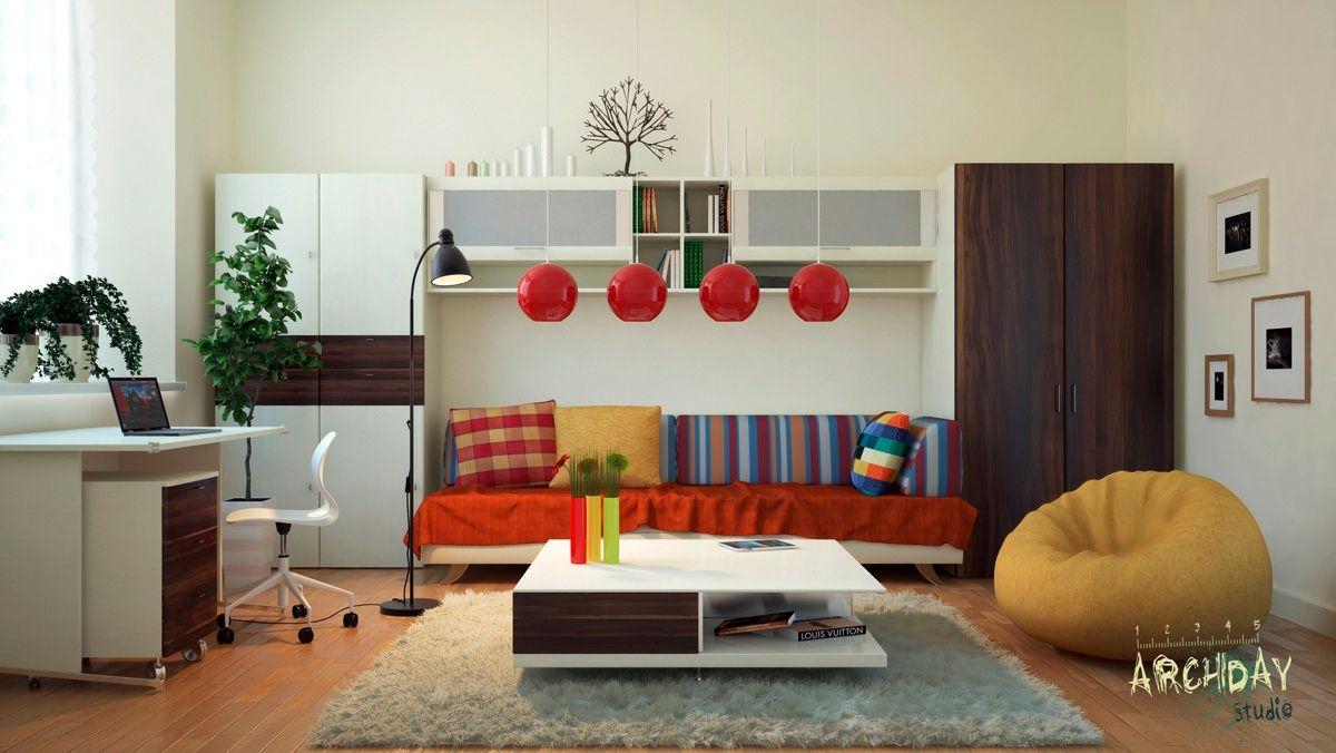 Modern Home, Creative Ideas For Workspace Inspiration Office Home Interior  Design: Creative Workspace Arch