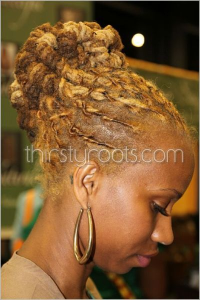 World Natural Hair Show 2011 - definitely want the color and style ...