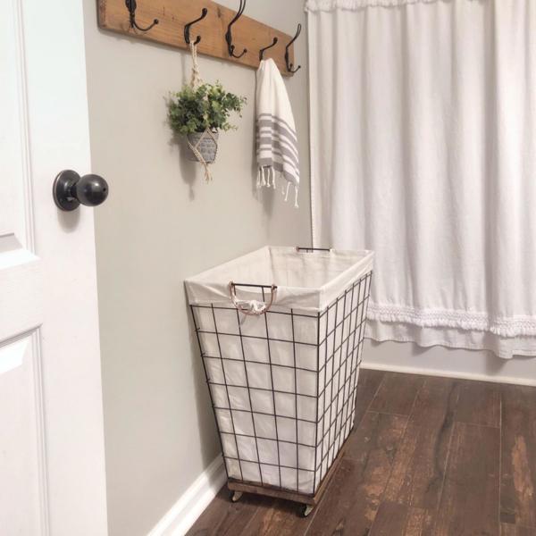 Shared Floral Bedroom For Girls Laundry Hamper Diy Laundry