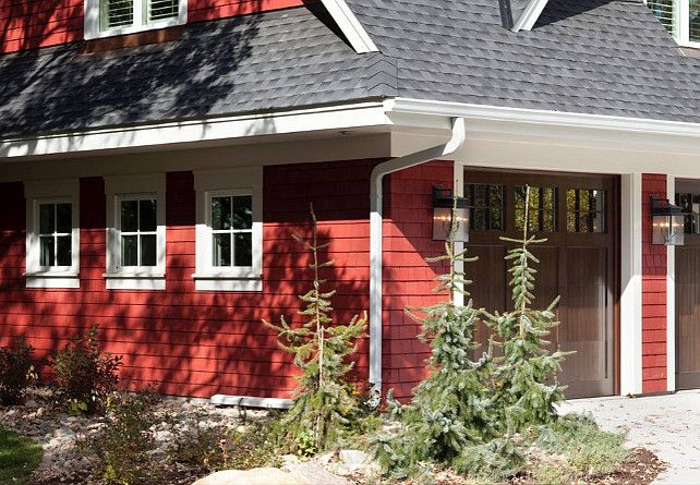 Cottage Red PM-15 by Benjamin Moore. Red Home Exterior Paint Color ...