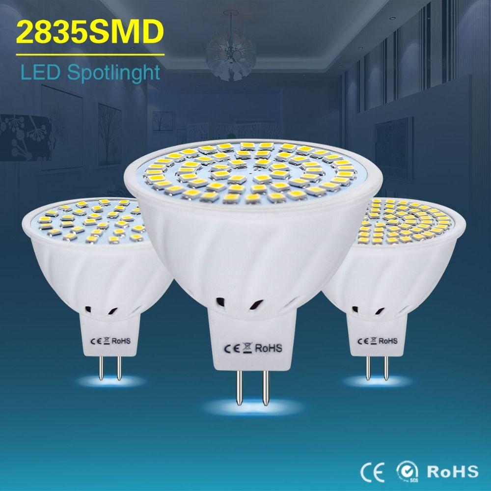 Mr16 Led Lampe Ac Dc 12 V 24 V Mr 16 Led Lumiere Ampoule Gu5 3 4 W 6 W 8 W Led Projecteurs Smd2835 Economie D Energie Lampe Pour Lustre Lamp Led Tableware Bowl