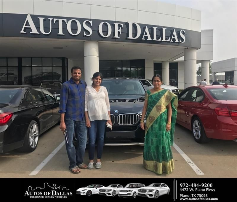 HappyBirthday to Vamsi from Omay Bosch at Autos of Dallas