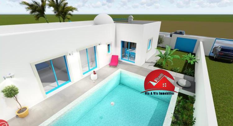 Votre villa clé en main à Djerba avec Vis A Vis Immobilier Projets