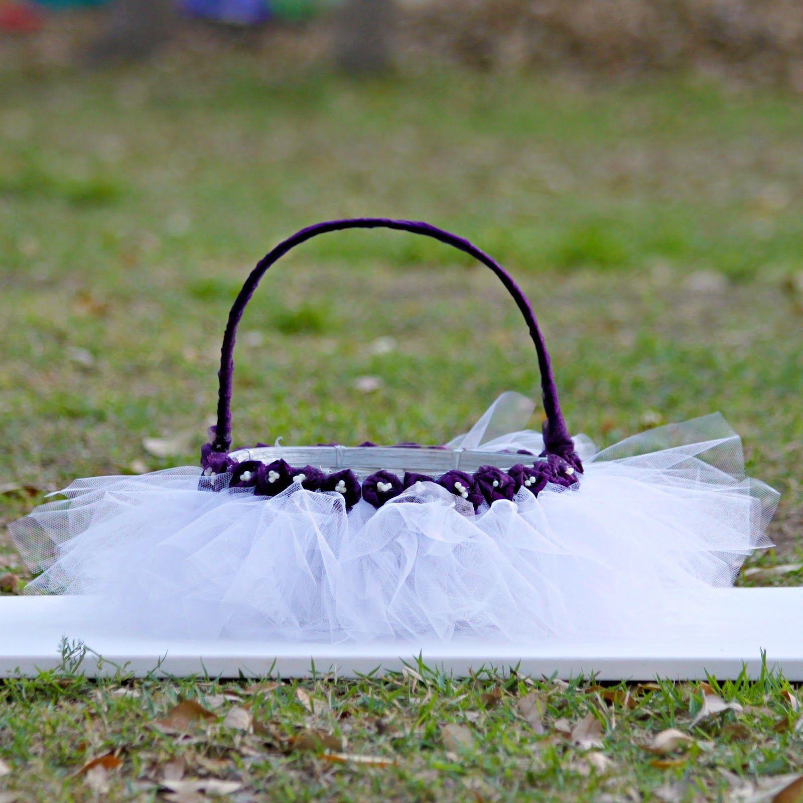 morena's corner: Tulle Easter Basket DIY