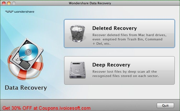 Wondershare Data Recovery For Mac Coupon On Women Month Promotions