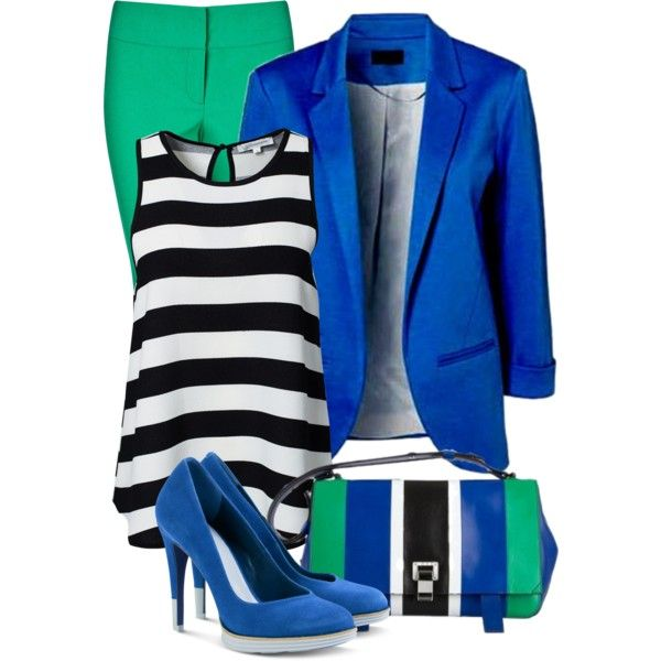 stripe top by sagramora on Polyvore featuring мода, Glamorous, Phase Eight…