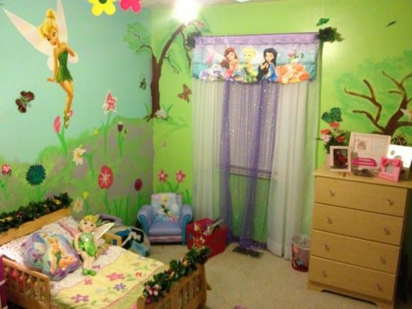 . Tinkerbell Wallpaper For Bedrooms   Baby things in 2019   Girls