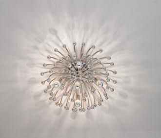 Robert abbey anemone 23 12 wide ceilingwall light fixture robert abbey anemone 23 12 wide ceilingwall light fixture contemporary ceiling lighting mozeypictures Choice Image